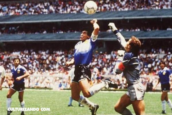 La consagración de Maradona, el gol de la mano de Dios