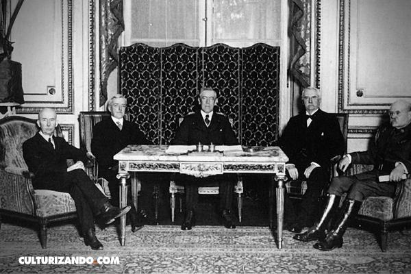¿En qué consistió el Tratado de Versalles?