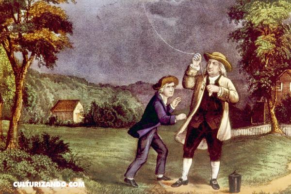 De una chispa al Pararrayos: Benjamin Franklin y la electricidad
