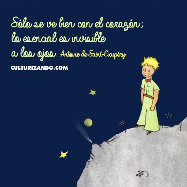 10 Grandes frases de Antoine de Saint-Exupéry