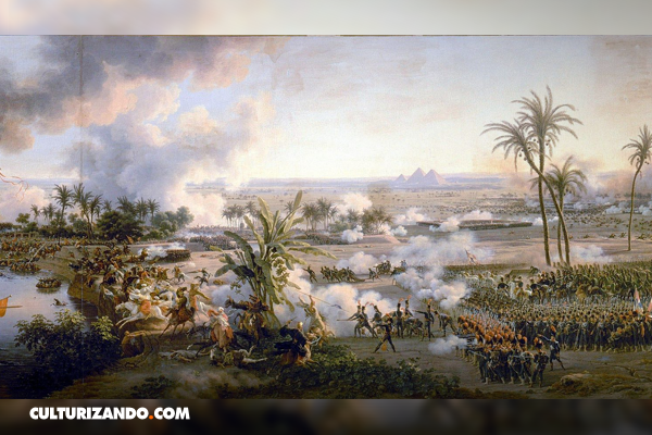 ¿A qué se le llamó la Batalla de las Pirámides?