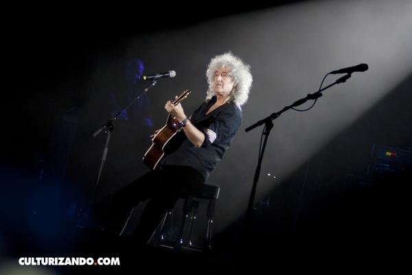 ¡Grande Brian May! (+Video)
