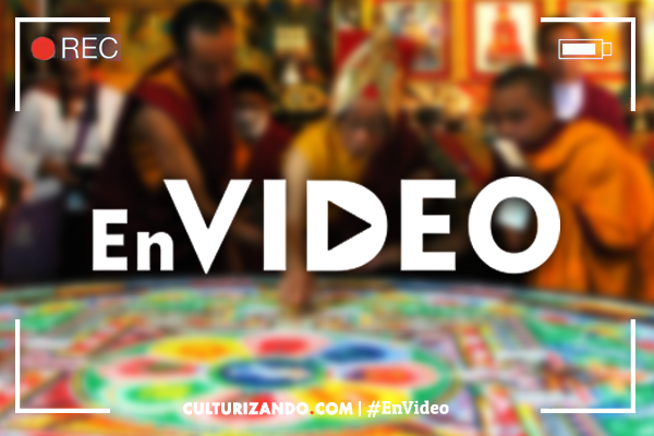 La Nota Curiosa: ¿Sabes qué es un Mándala Tibetano y cómo se hace? (+Video)