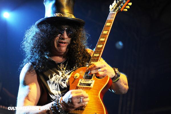 Música: ¡Felices 54 al gran Slash! (+Video)