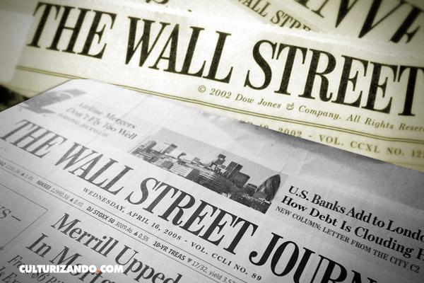 La primera impresión del periódico The Wall Street Journal - culturizando.com | Alimenta tu Mente