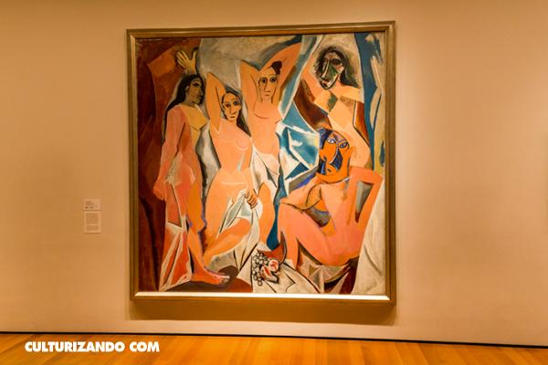 ¿Conoces esta obra? Las Señoritas de Avignon de Picasso