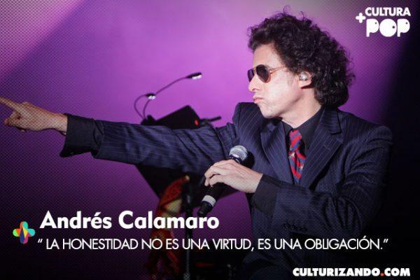 Cronología musical del genial Andrés Calamaro