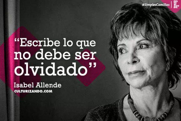 Lo Mejor De Isabel Allende Frases Culturizando