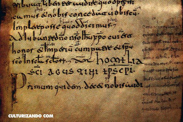 La Nota Curiosa: El primer texto en castellano