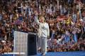 Clinton supera a Trump por 7 puntos tras Convención