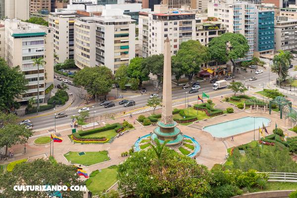 La Historia de: La plaza Francia, icono de Caracas (+Imágenes)