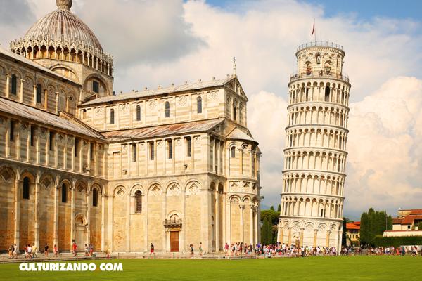 foto de La historia de la torre inclinada de Pisa