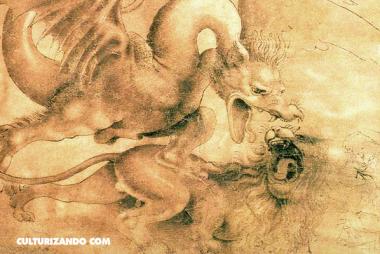 Leonardo da Vinci, el pintor de dragones (+Imágenes)