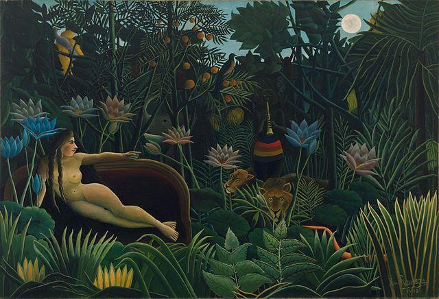 Henri Rousseau - El sueño, 1910