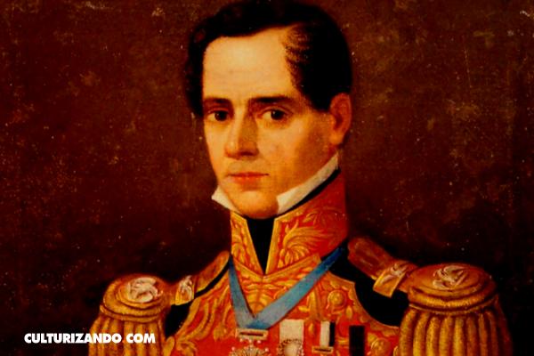 El funeral de la pierna del dictador Santa Anna