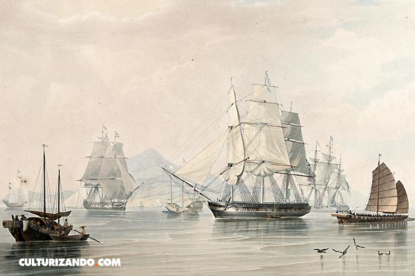¿A qué se le llamó la Primera Guerra del Opio?