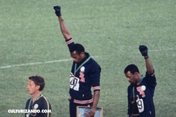 El día en que el 'Poder Negro' saludó en los Juegos Olímpicos