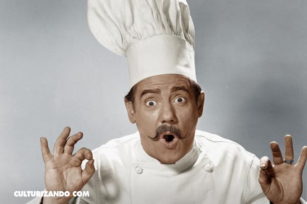 ¿Por qué tienen forma alta los gorros de cocinero?