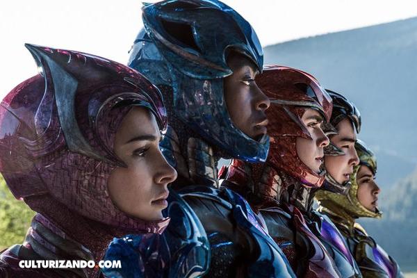 Lionsgate da a conocer el primer tráiler de Power Rangers