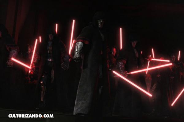 ¿Por qué los Sith tienen sables de luz rojos?