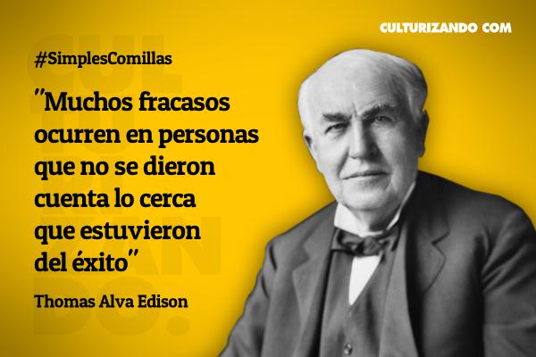 Grandes frases de Thomas Alva Edison