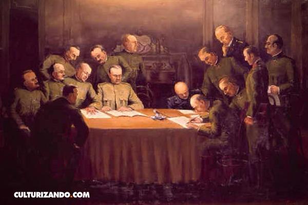 ¿De qué trató el armisticio de Padua?