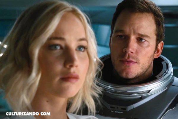 'Passangers' con Jennifer Lawrence y Chris Pratt (+Tráiler)