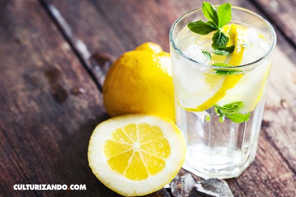 6 razones importantes para beber agua con limón