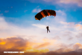 La curiosa historia del paracaídas