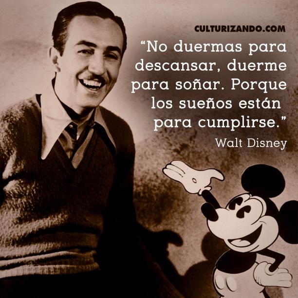 Las Mejores Frases De Walt Disney Simples Comillas