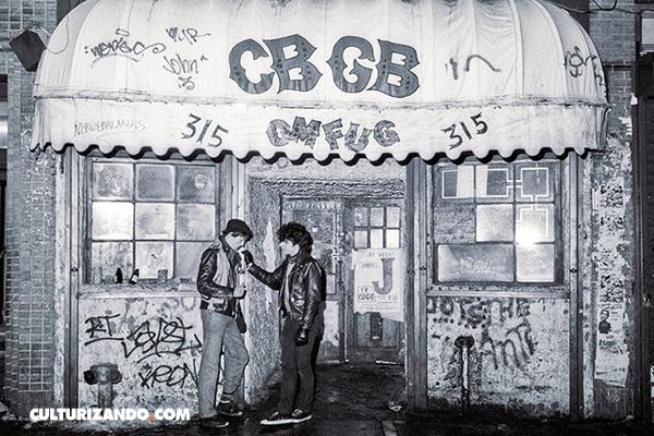 El CBGB, el antro más importante de la historia del rock