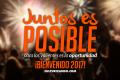 Juntos es posible, para los valientes es la oportunidad ¡Bienvenido 2017!