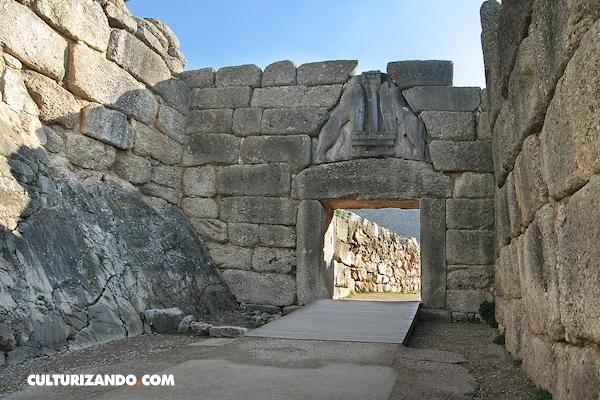 ¿Cuándo se descubrieron las ruinas de Micenas?