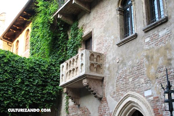 Lugares increíbles: El balcón de Romeo y Julieta