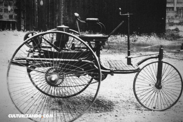 El primer auto con motor de combustión interna