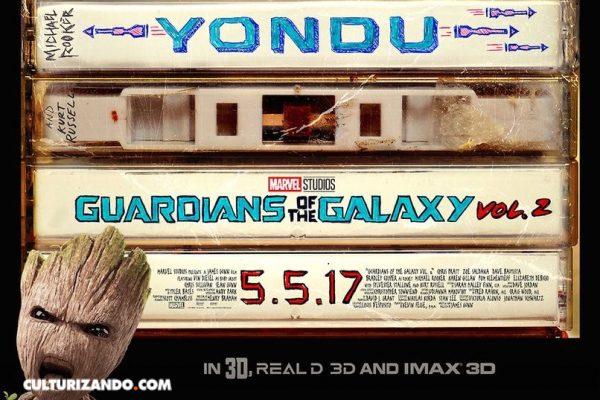 Nuevo poster y adelanto de 'Guardianes de la Galaxia Vol 2'