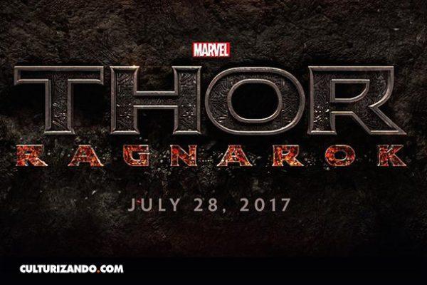 """""""Thor 3 Ragnarok"""", por poco en la Tierra"""