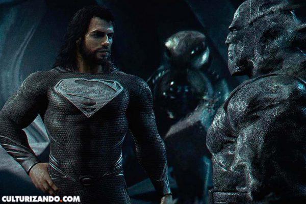 Nuevo fanart de 'La Liga de la Justicia' con Black Superman