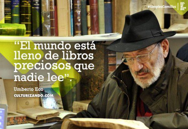 Lo mejor de Umberto Eco (+Frases)