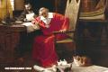 El Cardenal Richelieu y su loco amor por los gatos
