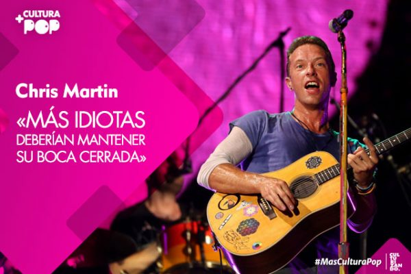 Cosas que no sabías sobre Chris Martin de Coldplay (+Video)