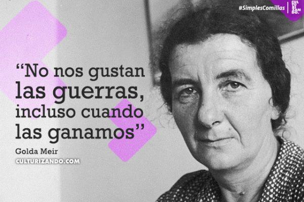¿Quién fue Golda Meir? 10 datos de esta tenaz mujer
