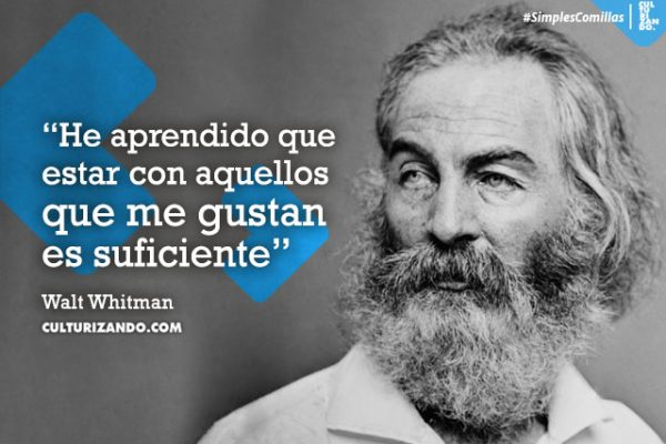 10 grandes frases de Walt Whitman
