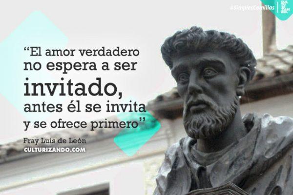 Grandes frases de Fray Luis de León