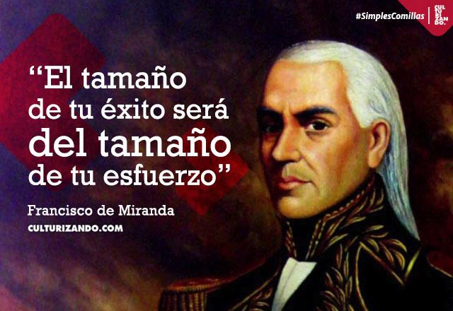 Frases de Francisco de Miranda