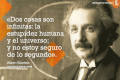 El gran Albert Einstein en 10 frases