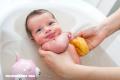 Baño de bacterias para recién nacidos