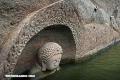 Un Buda de 600 años de antigüedad apareció en un lago de China