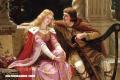 El amor medieval según el pincel de Edmund Blair Leighton