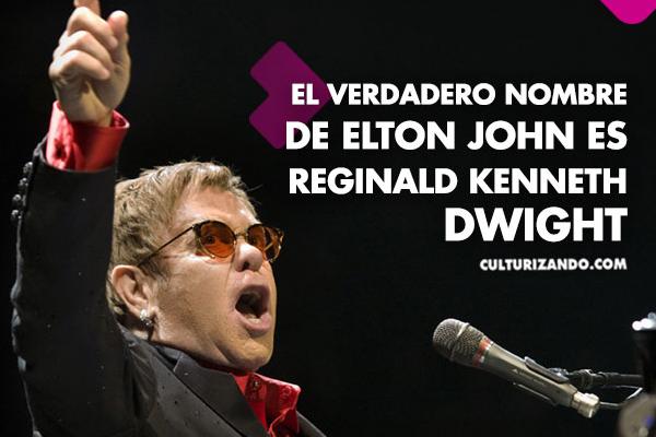 Elton John en 10 datos curiosos
